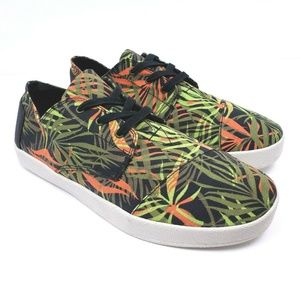 NEW Toms Mens Size 10.5 Tropical Rain Forest Shoes
